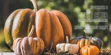 Verdi Club Thanksgiving Dinner Dance tickets