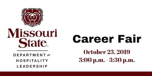 Hospitality Leadership Fall 2019 Career Fair
