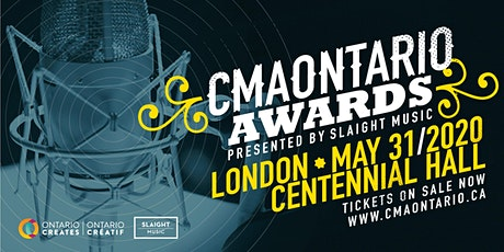 2020 CMAONTARIO AWARDS tickets