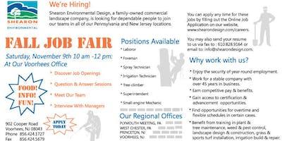 Landscape Job Fair Open House