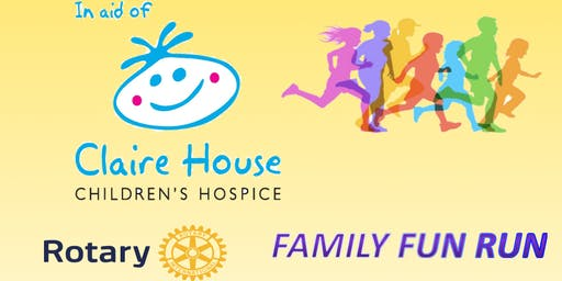 Rotary Club Family Fun Run in aid of Claire House.