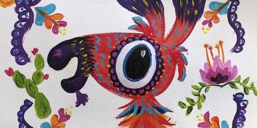 Dia De La Pintura  - Paint Night at Toledo's Mexican Restaurant