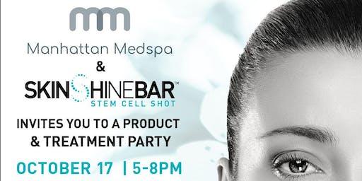 SkinShineBar Skincare Launch Event