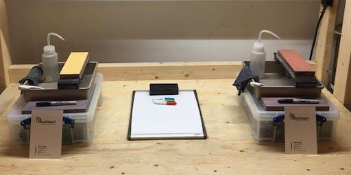 Atelier d'aiguisage de couteau ( Français)