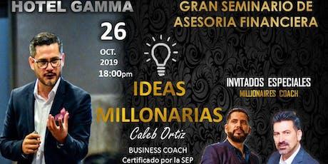 GRAN SEMINARIO DE ASESORIA FINANCIERA entradas