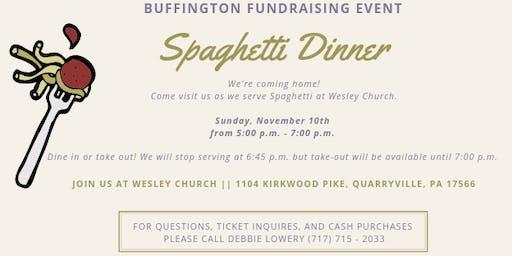 Spaghetti Dinner: Buffington Fundraising Event
