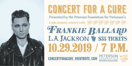 Concert for a Cure / Presented by  Peterson Foundation for Parkinson's