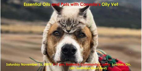 Essential Oils and Pets with Canada's Oily Vet tickets