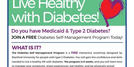 FREE Diabetes Self-Management Program Today! tickets
