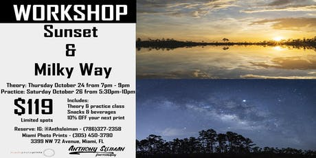 Sunset & Milky Way Photography Workshop entradas