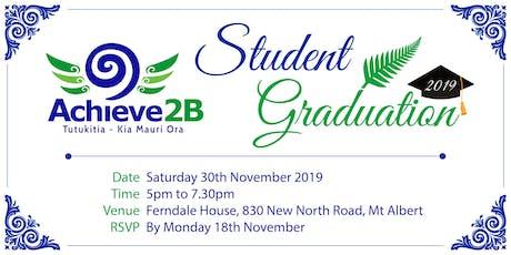 Achieve2B Student Graduation tickets