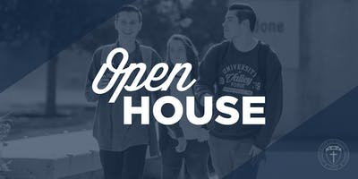 Academic Open House @ University of Valley Forge April 18th 2020