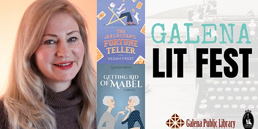 Galena LitFest: Getting Rid of Mabel: Author Reception