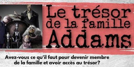 Le labyrinthe de la famille Addams billets