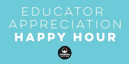 Educator Appreciation Happy Hour