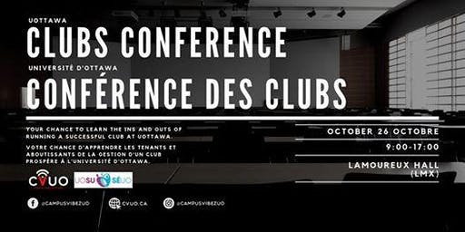 Conférence de Clubs  de CVUO // CVUO Clubs Conference