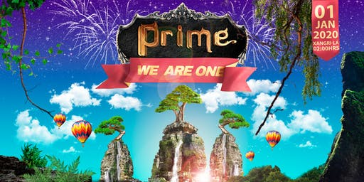 PRIME - WE ARE ONE (RÉVEILLON)