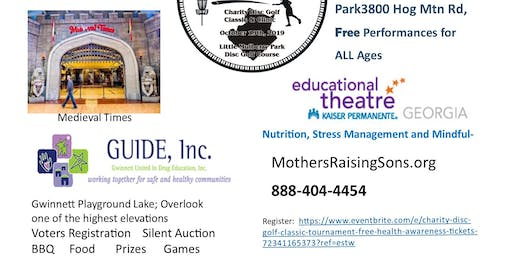 "Mothers Raising Sons Charity Disc Golf Classic ""To Cause A Change"""