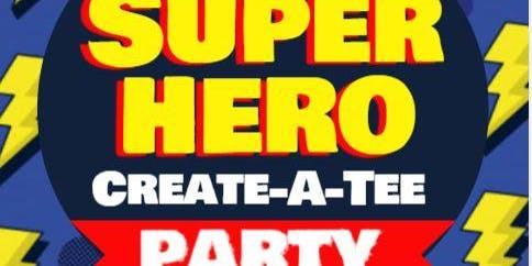 Super Hero Create-A-Tee Party