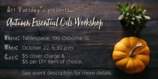 Autumn Essential Oils Workshop