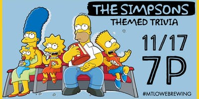 The Simpsons Themed Trivia