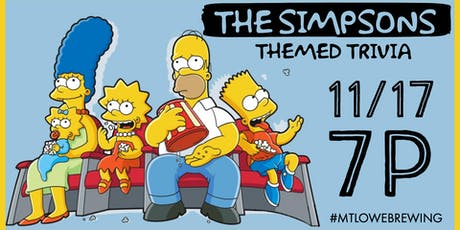 The Simpsons Themed Trivia tickets