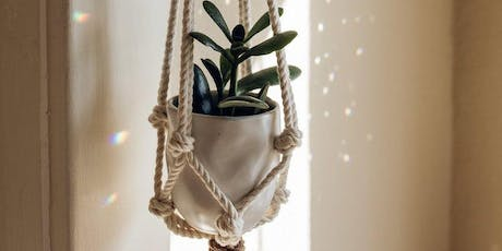 Macrame Plant Hangers with Danielle Churchill tickets
