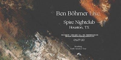 Ben Böhmer / Saturday March 7th / Spire Moroccan Room