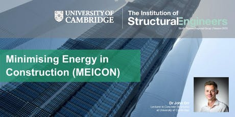 Minimising Energy in Construction (MEICON) by Dr John Orr tickets