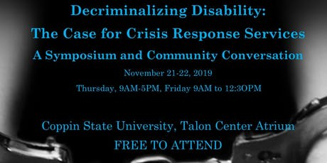 Decriminalizing Disability: The Case for Crisis Response in Baltimore City tickets