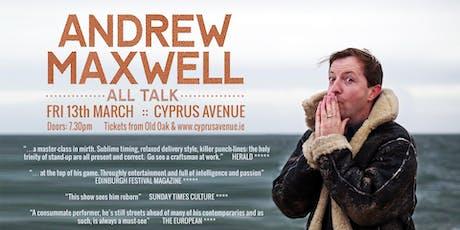 Andrew Maxwell - All Talk tickets