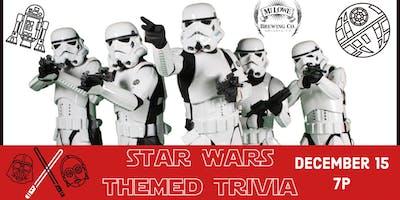 Star Wars Themed Trivia Night