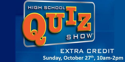 High School Quiz Show: Extra Credit
