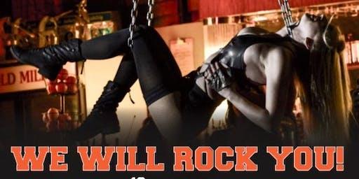Halloween Rock 'N' Roll Burlesque Show