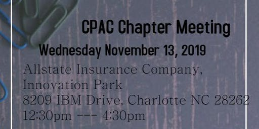 CPAC Chapter Meeting