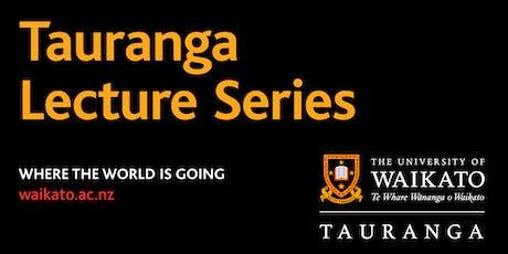 Tauranga Public Lecture Series - Dr Liezl van Zyl tickets