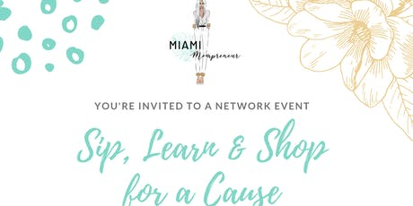 Sip, Learn and Shop for a Cause tickets