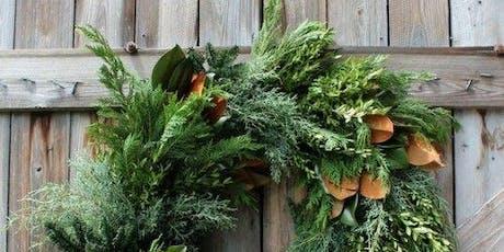 Winter Wreath Workshop by Florence + Flora tickets