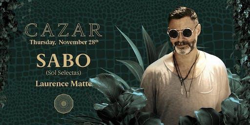 Cazar present Sabo
