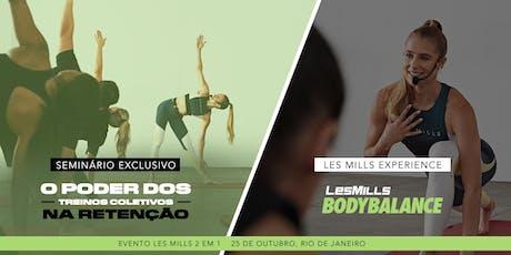 LES MILLS Experience BODYBALANCE - Rio de Janeiro tickets