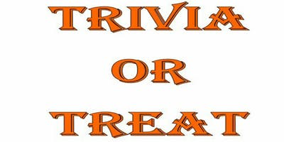 TRIVIA OR TREAT GAME NIGHT FUNDRAISER