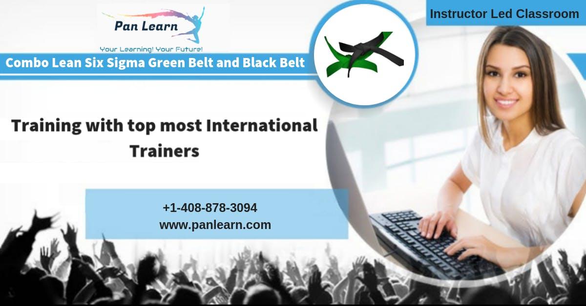 Combo Six Sigma Green Belt (LSSGB) and Black Belt (LSSBB) Classroom Training In Pittsburgh, PA