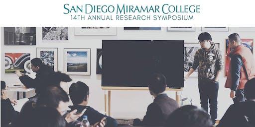 14th Annual Miramar College Undergraduate Research Symposium