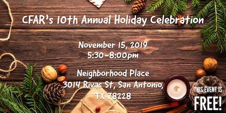 CFAR's 10th Annual Holiday Celebration tickets