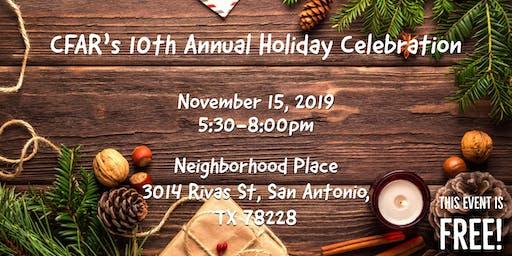 CFAR's 10th Annual Holiday Celebration