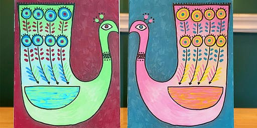THINGS TO DO -PAINT & SIP EVENT: PAINT TOGETHER — PEACOCK
