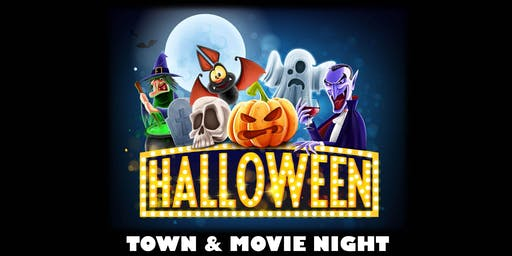 Halloween Town & Movie Night for Kids