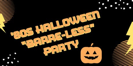 "80s Halloween ""Barre-less"" Party tickets"