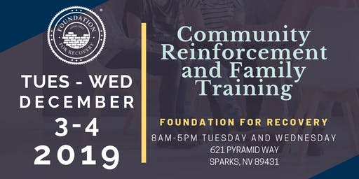 Community Reinforcement and Family Training (CRAFT) - Facilitator Training