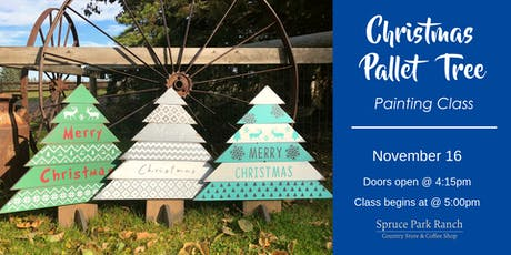 Christmas Pallet Tree tickets